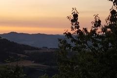 panorama da Solara con vista sul Vulcanello all'alba