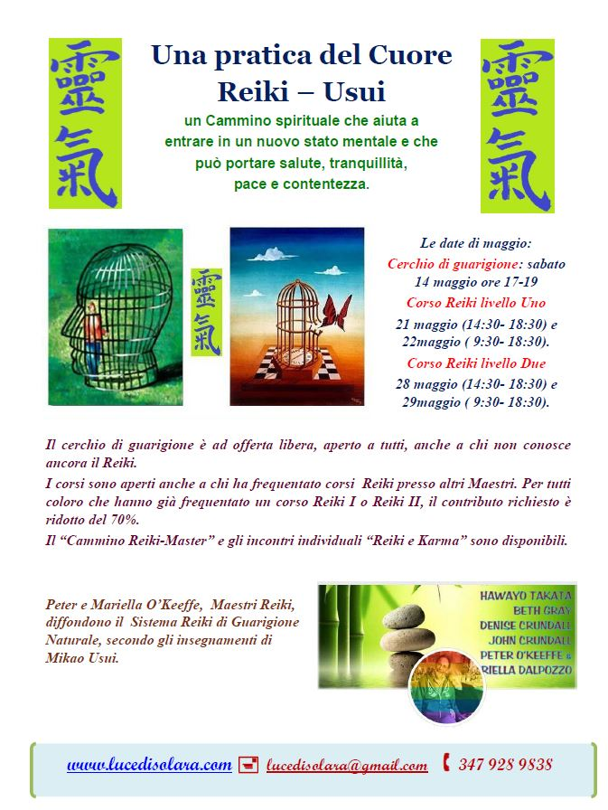 2016 05 programma di maggio