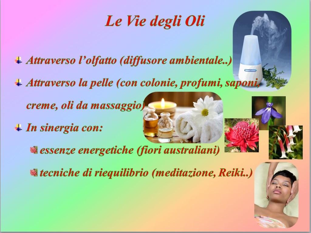 le vie degli oli